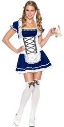 Официантки и Повара - Синий костюм Октоберфест