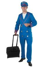 Профессии - Синий костюм пилота