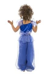 Арабские и восточные - Синий костюм Звезды Востока
