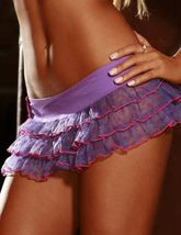 Подъюбники и юбки - Сиреневая короткая юбка