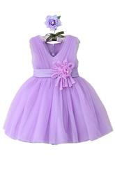 Платья для девочек - Сиреневая принцесса