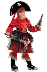 Пиратки - Костюм Сказочная пиратка красный