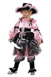 Пиратки - Костюм Сказочная пиратка розовый