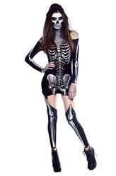 Скелеты и Зомби - Костюм Скелет девушки