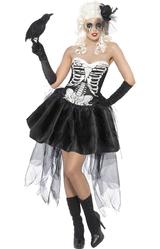 Перчатки и боа - Скелет Ведьмы