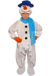 Костюмы для мальчиков - Костюм Снеговик в шляпе