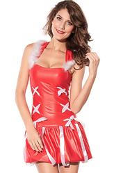 Женские костюмы - Снегурочка с капюшоном