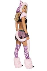Go-Go костюмы - Снежный барс