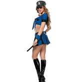 Полицейские и Грабители - Соблазнительный взрослый костюм полицейской