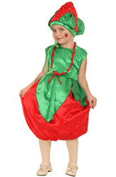 Фрукты и ягоды - Костюм Сочная клубничка