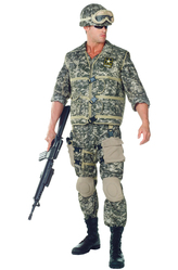 Военные и спецназ - Костюм Мужественный солдат