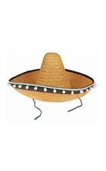 Мексиканские костюмы - Соломенное мексиканское сомбреро