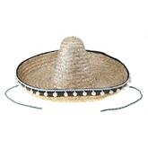 Мексиканские костюмы - Соломенное сомбреро мексиканца