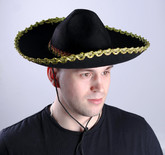 Мексиканские костюмы - Сомбреро с золотым кантом