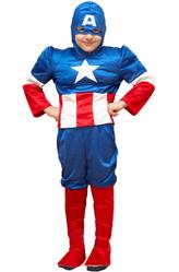 Супергерои - Костюм Справедливый Капитан Америка