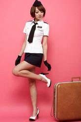 Стюардессы и Капитаны - Стюардесса военного самолёта