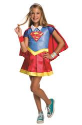 Супермен - Костюм Супердевочка делюкс
