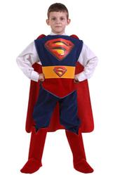 Супергерои - Костюм Супермен Люкс