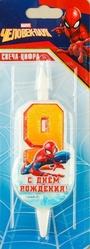 Человек-паук - Свеча девятка Человек Паук