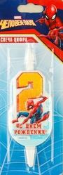 Человек-паук - Свеча двойка Человек Паук