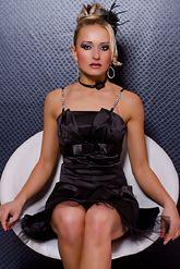 Клубные платья - Свободное платье черное