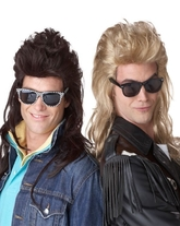 Ретро и Гангстеры - Тёмный рок парик