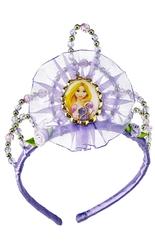 Принцессы - Тиара Рапунцель фиолетовая