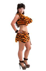 Смешные и Веселые - Костюм Тигровая Дикарка