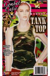 Шортики и топы - Топ Военная красавица