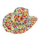 Ковбои и Индейцы - Цветочная ковбойская шляпа