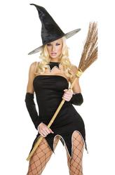 Перчатки и боа - Тыквенная ведьмочка