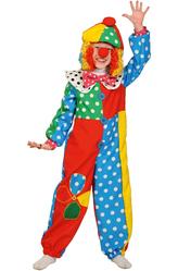 Костюмы для девочек - Костюм Улыбчивый клоун
