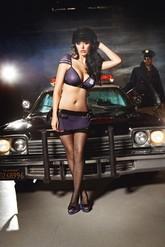 Полицейские и Грабители - Узорчатые чулки полицейской