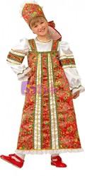 Русские народные - Узорчатый костюм Аленушки
