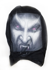 Вампиры и Дракулы - Вампирская маска-чулок