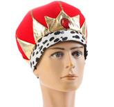Короли и королевы - Величественная красная корона