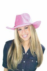 Ковбои и индейцы - Вельветовая ковбойская шляпа