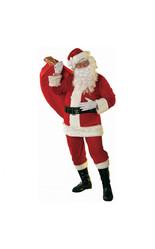 Костюмы на Новый год - Велюровый костюм Санта Клауса