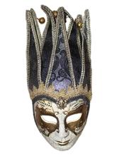 Венецианский карнавал - Венецианская маска с узорами