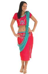 Индийские танцы - Костюм Индийская красавица