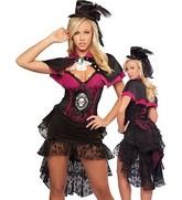 Костюмы на Хэллоуин - Костюм Викторианская вампирша