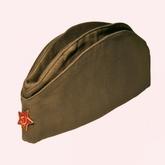 Военные и Милитари - Взрослая пилотка со значком