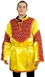 Русские народные - Взрослая желтая рубаха