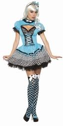 Сказочные персонажи - Взрослый костюм Алисы