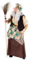 Баба Яга - Взрослый костюм Бабуси Ягуси