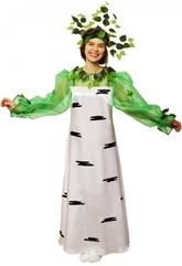 Женские костюмы - Взрослый костюм Березы