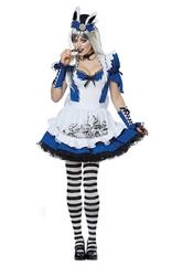 Алиса в Стране чудес - Взрослый костюм Безумной Алисы