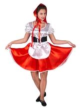 Красные шапочки - Взрослый костюм Доброй Красной Шапочки