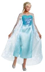 Королевы и Принцессы - Взрослый костюм Эльзы
