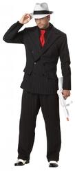 Убийцы и Киллеры - Взрослый костюм Гангстера